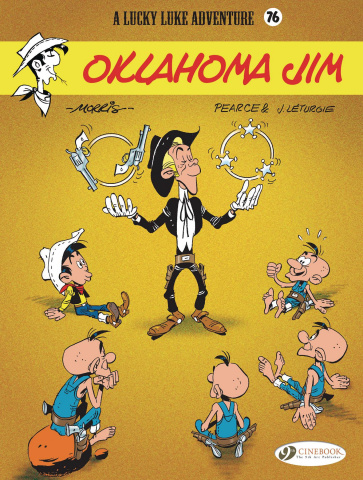 Lucky Luke Vol. 76: Oklahoma Jim