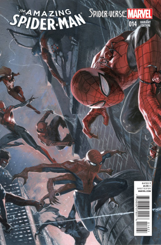 The Amazing Spider-Man #14 (Dell'otto Cover)