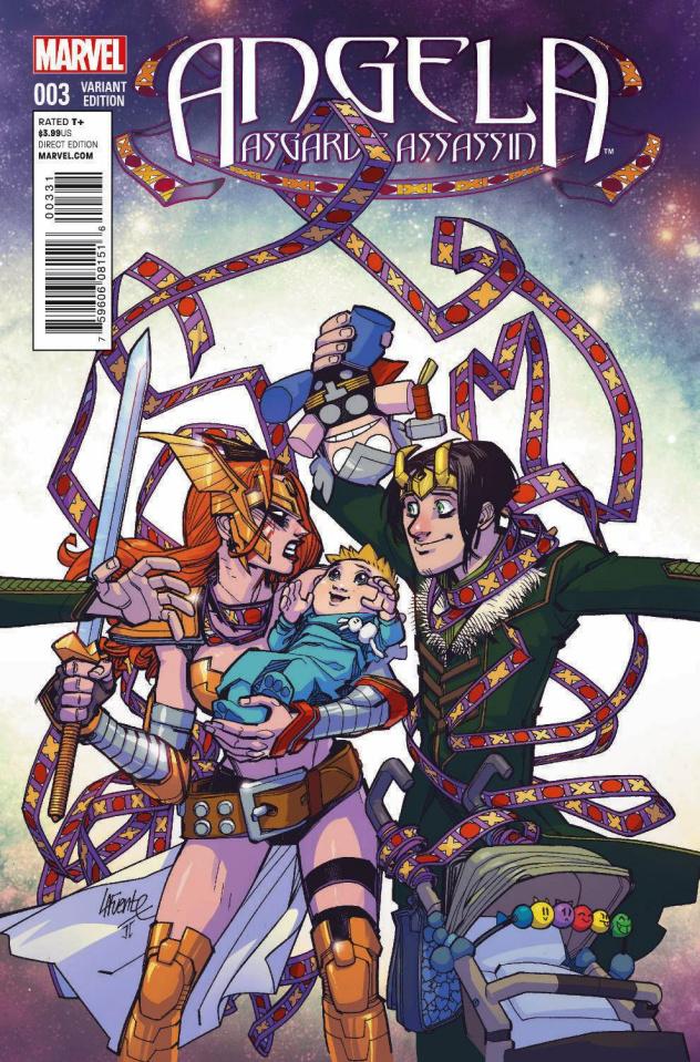 Angela: Asgard's Assassin #3 (Lafuente Cover)