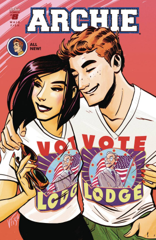 Archie #8 (Veronica Fish Cover)