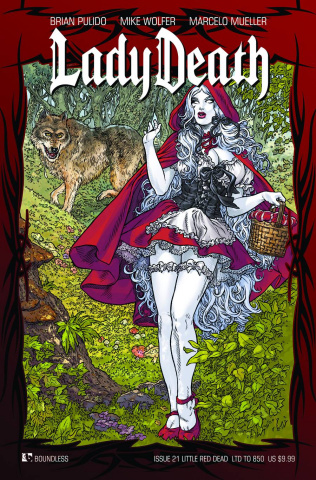 Lady Death #21 (Little Red Dead Cover)