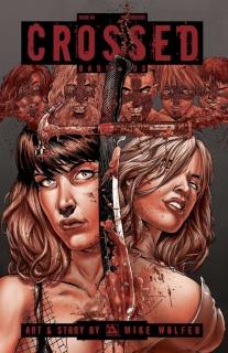 Crossed: Badlands #84 (Red Crossed Cover)
