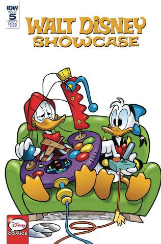 Walt Disney Showcase #5: The Donald Duck Family (Faccini Cover)