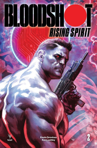 Bloodshot: Rising Spirit #2 (Massafera Cover)