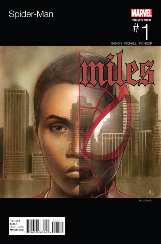 Spider-Man #1 (Granov Hip Hop Cover)