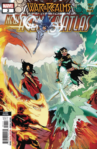 The War of the Realms: New Agents of Atlas #2 (Gang Hyu 2nd Printing)