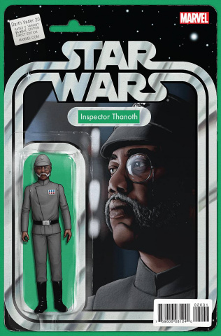 Darth Vader #20 (Christopher Action Figure Cover)