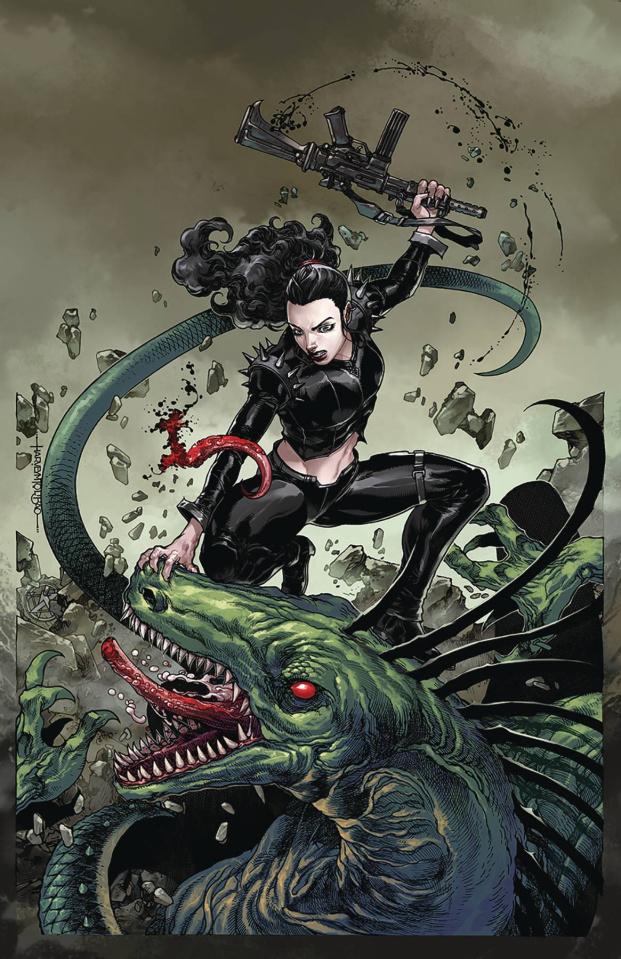 Monster Planet #5 (Tolibao Cover)