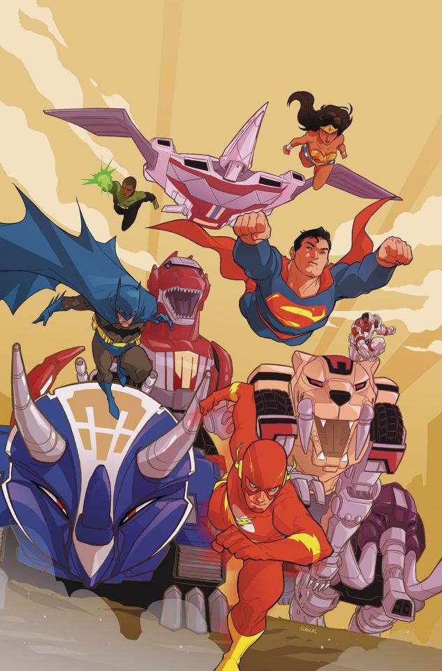 Justice League / Power Rangers #6