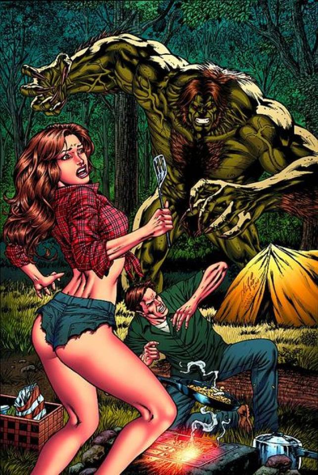 Monster Hunter's Survival Guide, Case Files: Sasquatch #1 (Rio Cover)