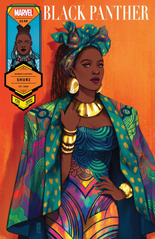 Black Panther #24 (Bartel Shuri Womens History Month Cover)
