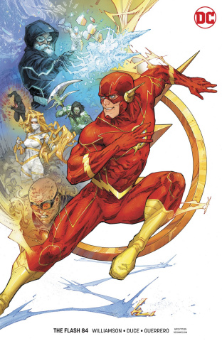 The Flash #84 (Card Stock Cover)