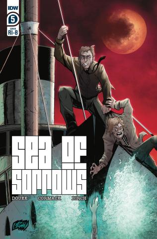 Sea of Sorrows #5 (25 Copy Franck Uzan Cover)