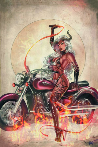 Lady Demon #2 (15 Copy Poulat Virgin Cover)