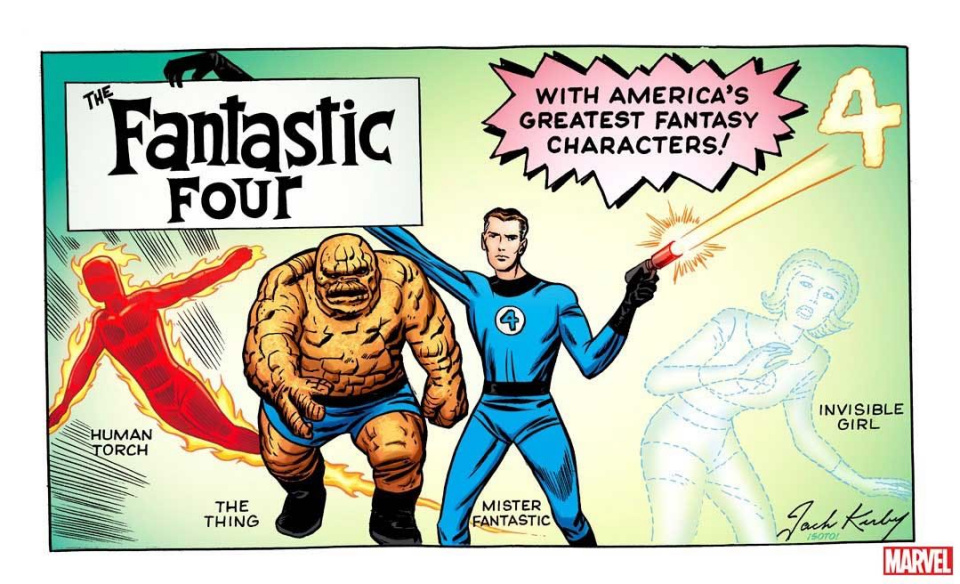 Fantastic Four #1 (Kirby Hidden Gem Cover)