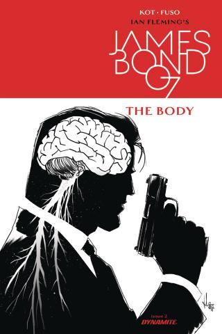 James Bond: The Body #2 (10 Copy B&W Cover)
