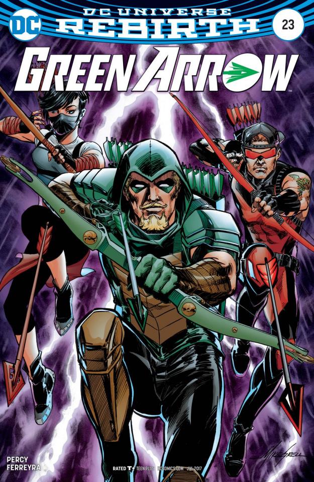 Green Arrow #23 (Variant Cover)