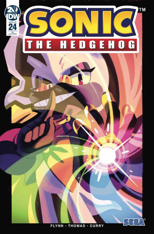 Sonic the Hedgehog #24 (10 Copy Fourdraine Cover)