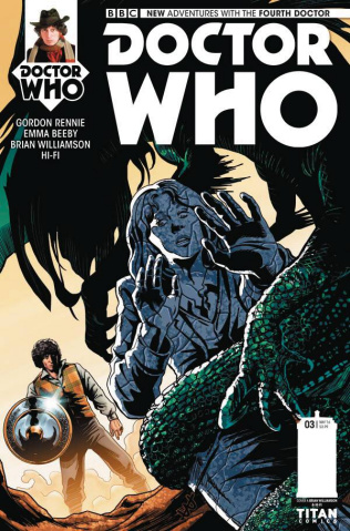Doctor Who: New Adventures with the Fourth Doctor #3 (Williamson Cover)