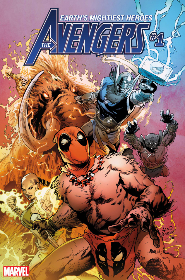 Avengers #1 (Land Party Cover)