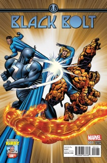 Black Bolt #1 (Jack Kirby Cover)