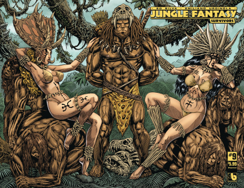 Jungle Fantasy: Survivors #9 (Wrap Cover)
