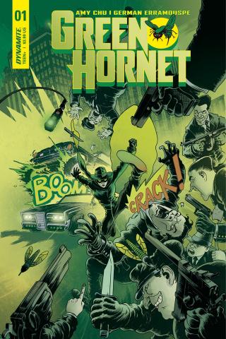 Green Hornet #1 (Wilson Cover)