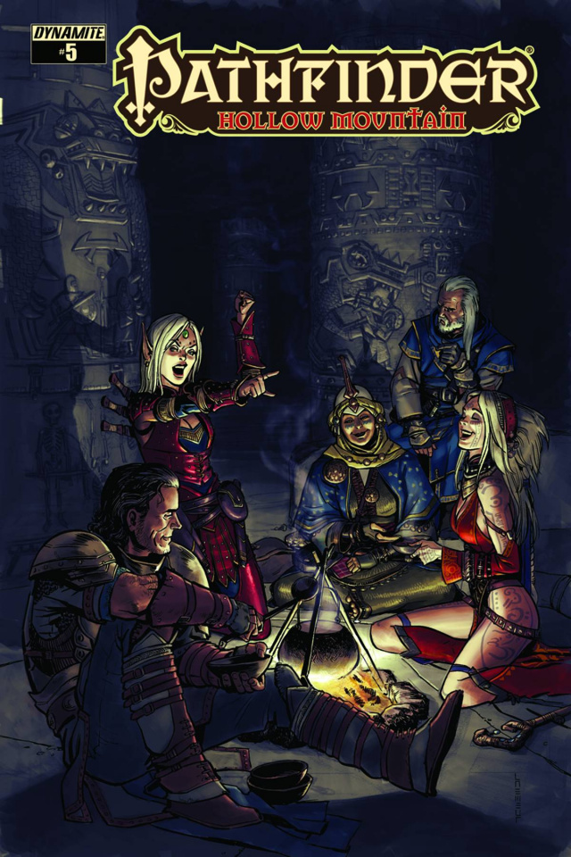 Pathfinder: Hollow Mountain #5 (Subscription Cover)