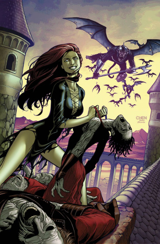 Grimm Fairy Tales: Oz - Reign of the Witch Queen #2 (Chen Cover)