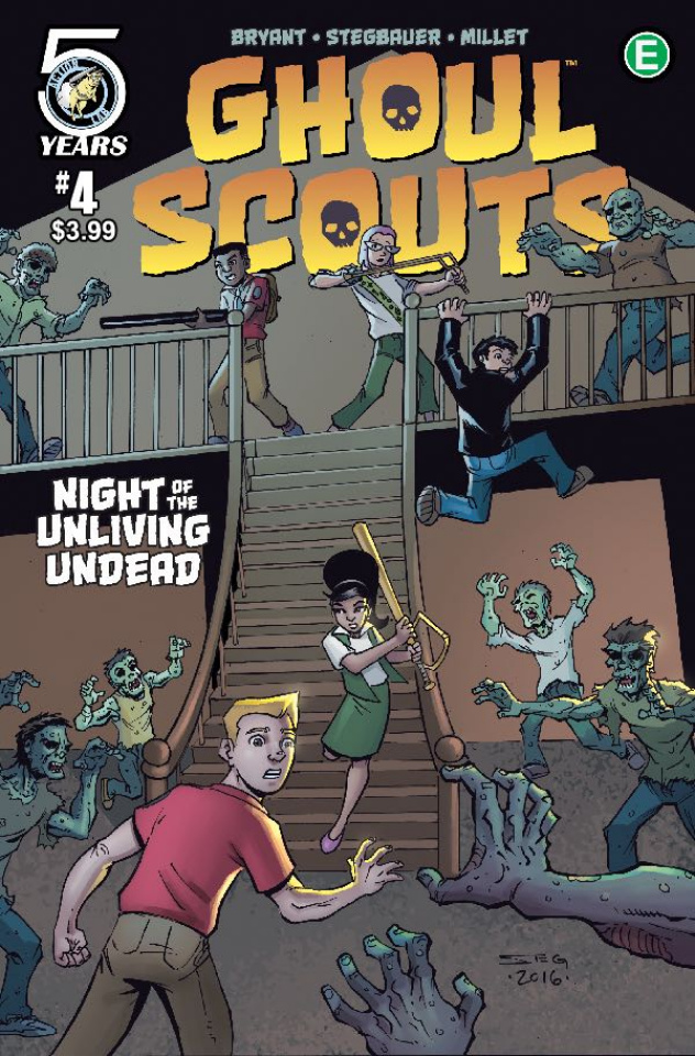 Ghoul Scouts: Night of the Unliving Undead #4 (Bryant Cover)