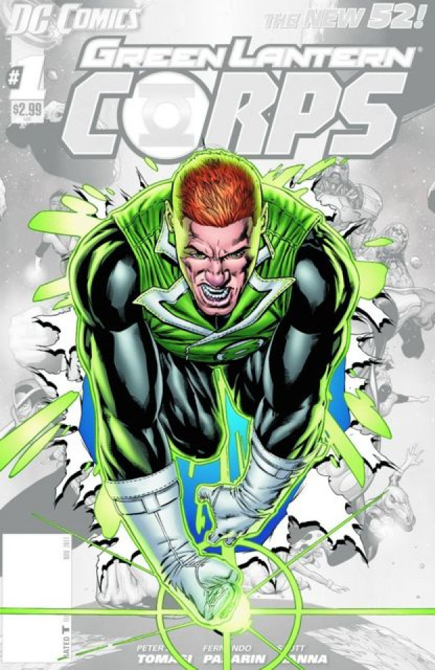 Green Lantern Corps #0
