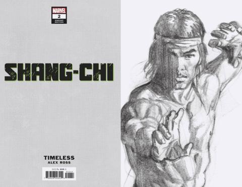 Shang-Chi #2 (Ross Shang-Chi Timeless Virgin Sketch Cover)