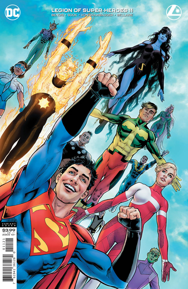 The Legion of Super Heroes #11 (Nicola Scott Cover)