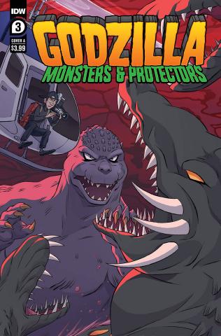 Godzilla: Monsters & Protectors #3 (Dan Schoening Cover)
