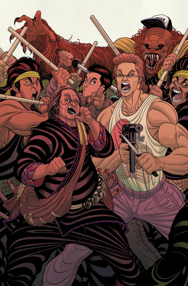 Big Trouble in Little China #10 (20 Copy Moore Cover)