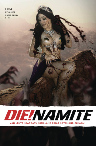 DIE!namite #4 (Hollon Zombie Cosplay Cover)
