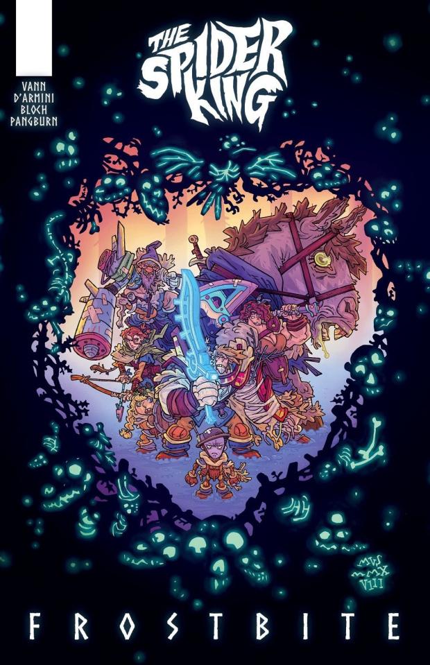 The Spider King: Frostbite (Darmini Cover)
