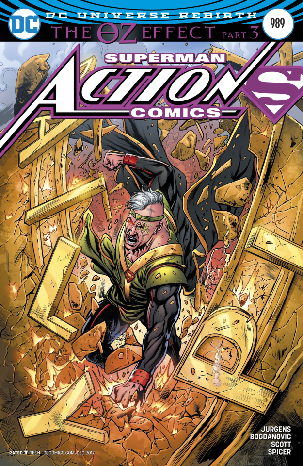 Action Comics #989 (Variant Cover)