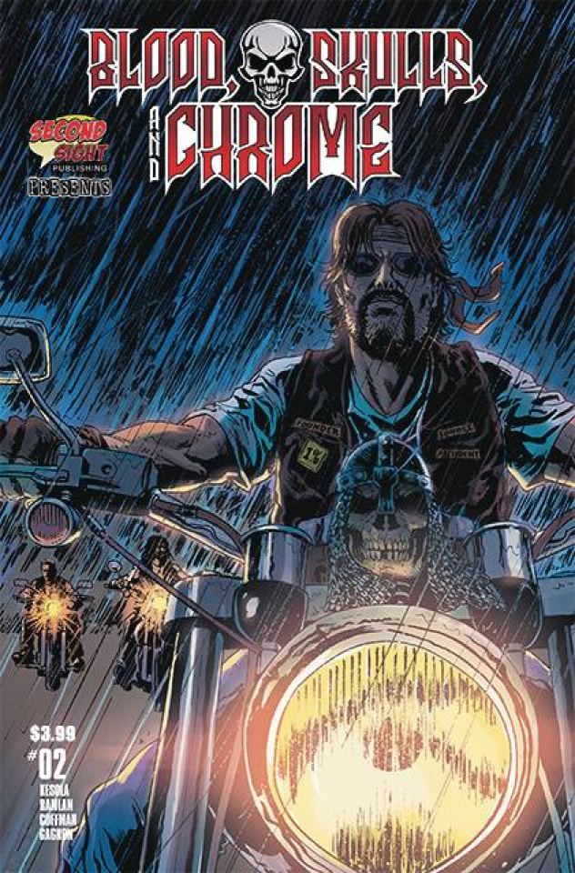 Blood, Skulls, and Chrome #2 (Ruiz Cover)