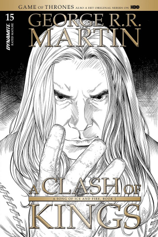 A Game of Thrones: A Clash of Kings #15 (10 Copy Miller B&W Cover)