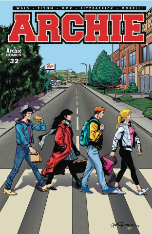 Archie #32 (Krause Cover)