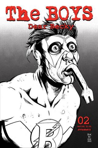 The Boys: Dear Becky #2 (Robertson Line Art Premium Cover)
