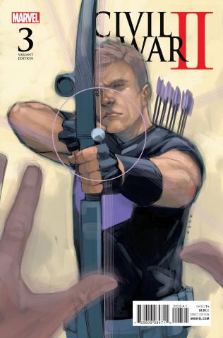Civil War II #3 (Noto Hawkeye Cover)