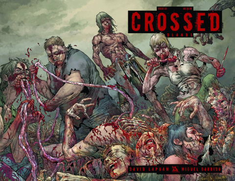 Crossed: Badlands #22 (Wrap Cover)