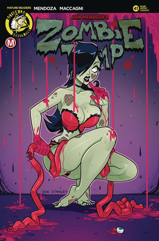 Zombie Tramp #41 (Stanley Cover)