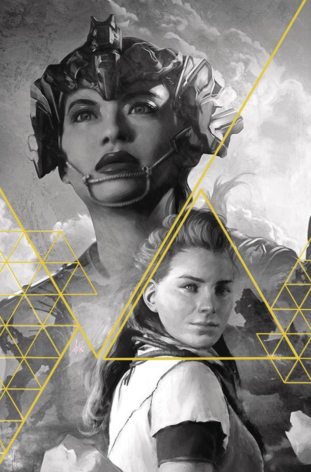 Horizon: Zero Dawn #1 (Artgerm Gold Ink 100 Copy Cover)