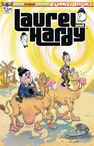 Laurel and Hardy #1 (Pacheco Cover)