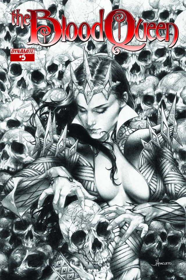 The Blood Queen #5 (25 Copy Anacleto Cover)