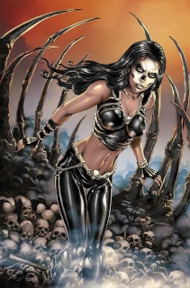 Grimm Fairy Tales: Day of the Dead #1 (Otero Cover)