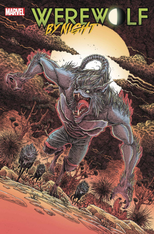 Werewolf by Night #3 (Stokoe Cover)